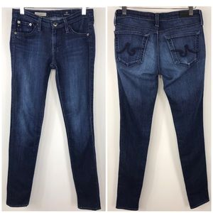AG the legging super skinny distressed jeans 26 R